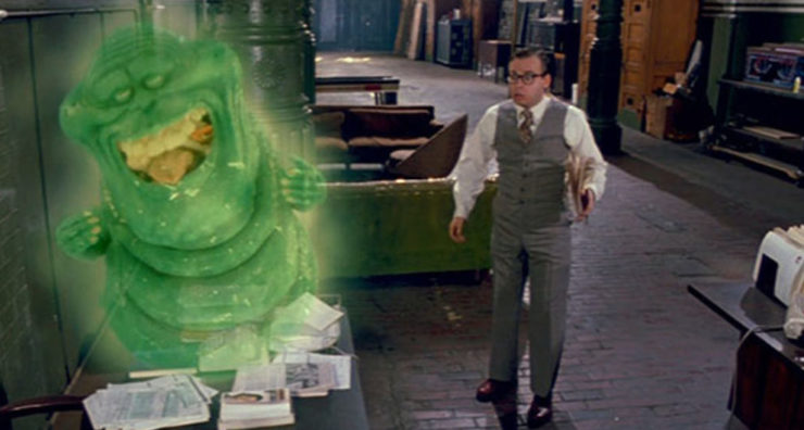 Slimer in Ghostbusters