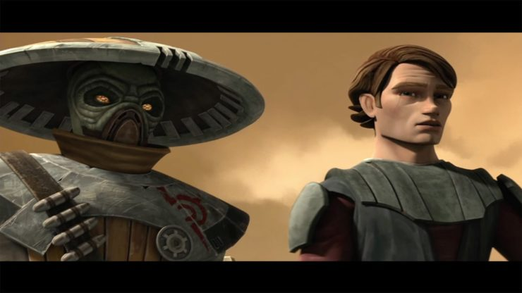 Embo and Anakin Skywalker- Clone Wars