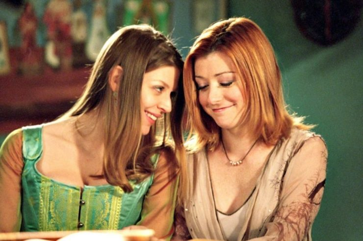 Tara and Willow- Buffy the Vampire Slayer