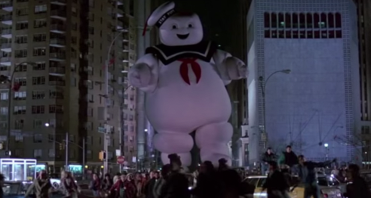 Stay Puft Marshmallow Man, Ghostbusters