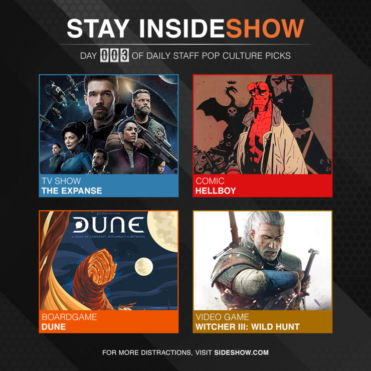 Stay InsideShow Pop Culture Picks – Day 3