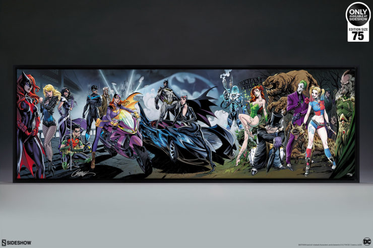 Batman #50 Gallery Wrapped Canvas by J. Scott Campbell