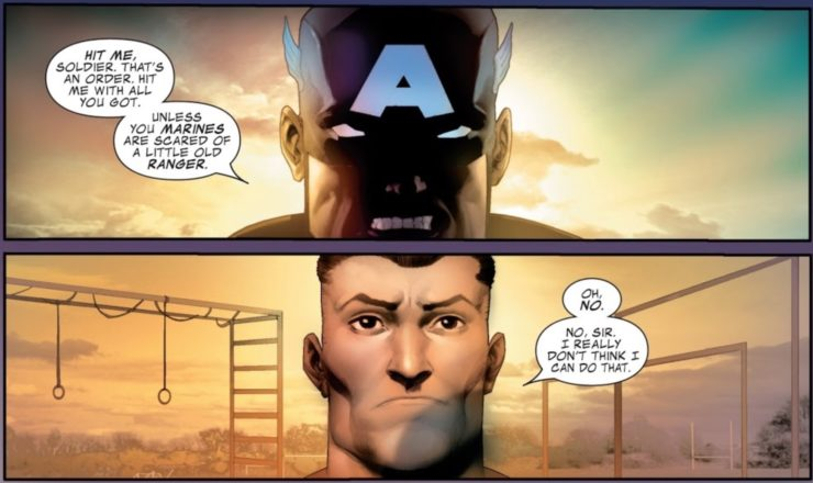 Captain America and The Punisher: Same Guy, Different War