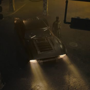 Matt Reeves The Batman Batmobile