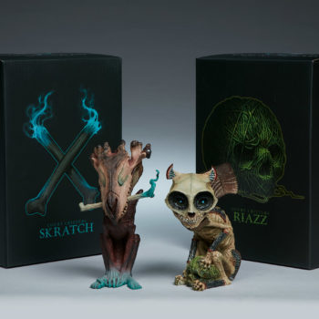 Skratch and Riazz Statuette Court of the Dead