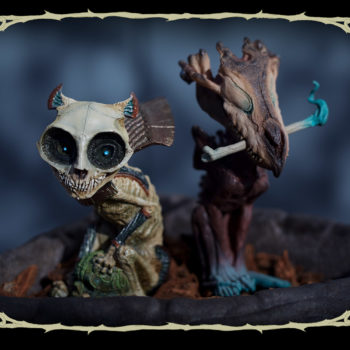 Skratch and Riazz Statuette Fancy Court of the Dead