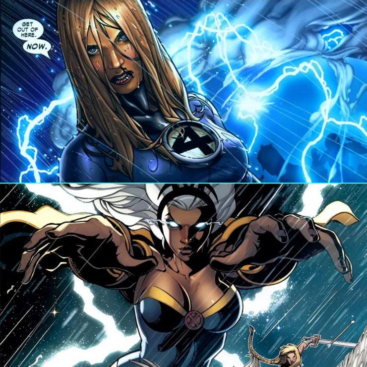 Marvel Matchup- Sue Storm vs. Storm
