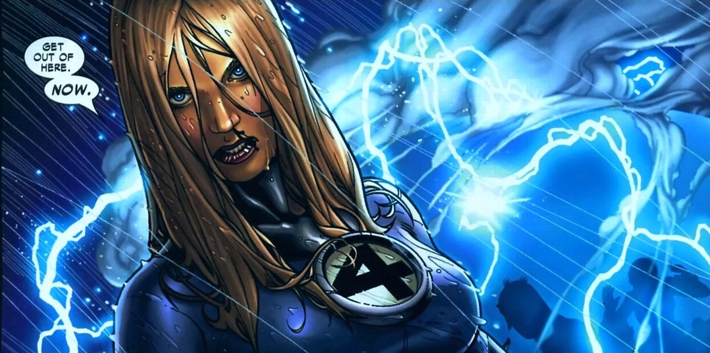 Marvel Matchup- Sue Storm vs. Storm | Sideshow Collectibles