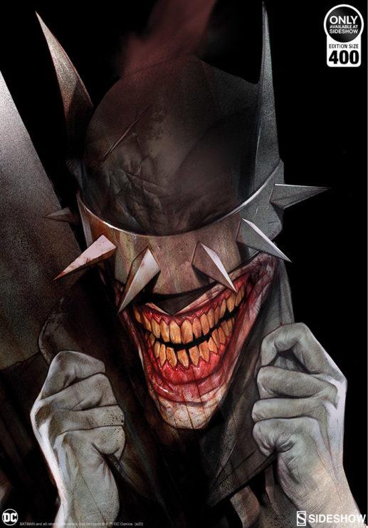 The Batman Who Laughs Fine Art Print by Artist Ben Oliver
