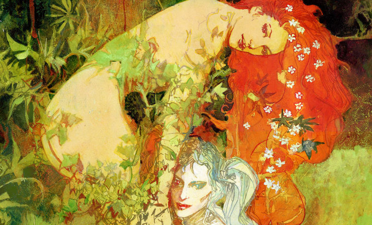 Harley and Ivy Fine Art Lithograph by Bill Sienkiewicz