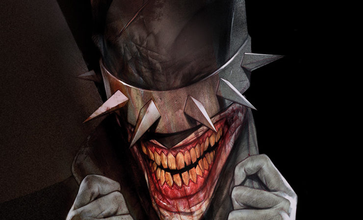 The Batman Who Laughs Fine Art Print by Artist Ben Oliver