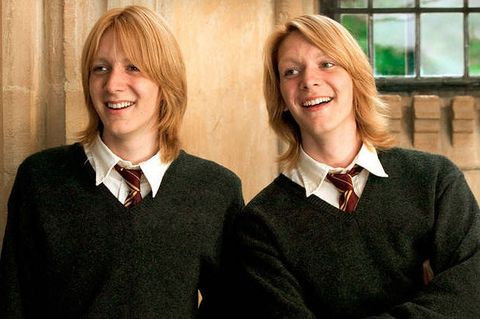 Fred and George Weasley- Year 4