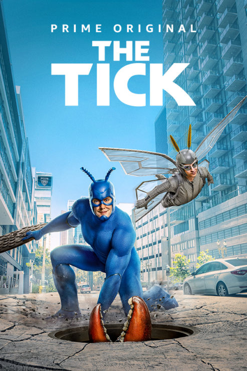 The Tick- Amazon Prime