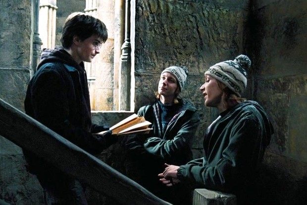 Weasley Twins Stealing the Marauder's Map