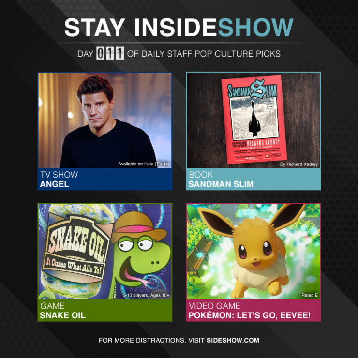 Stay InsideShow Pop Culture Picks – Day 11