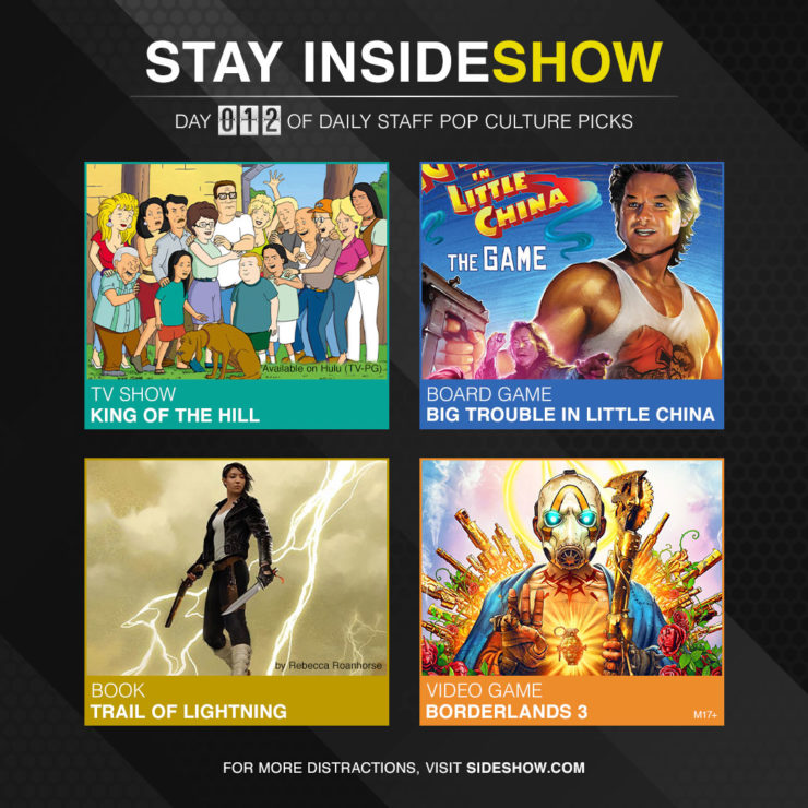 Stay InsideShow Pop Culture Picks – Day 12