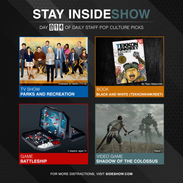 Stay InsideShow Pop Culture Picks – Day 14