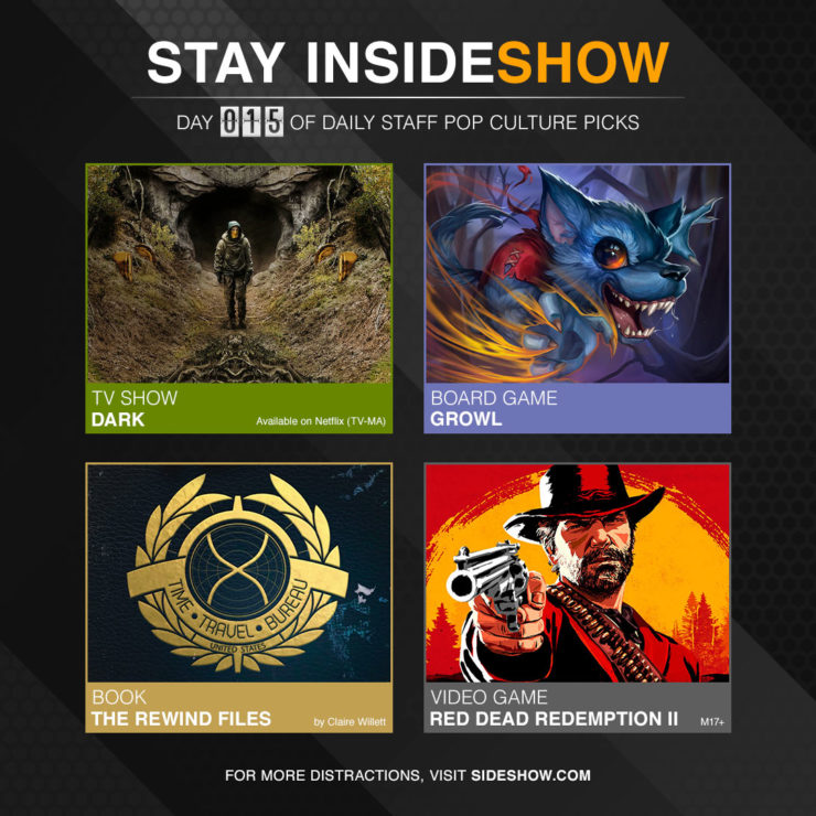 Stay InsideShow Pop Culture Picks – Day 15