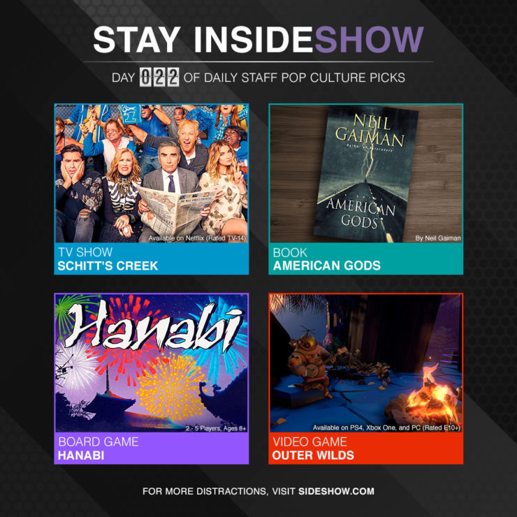 Stay InsideShow Pop Culture Picks – Day 22