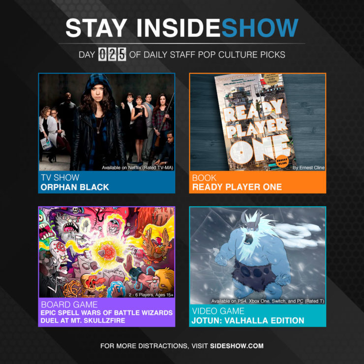 Stay InsideShow Pop Culture Picks – Day 25