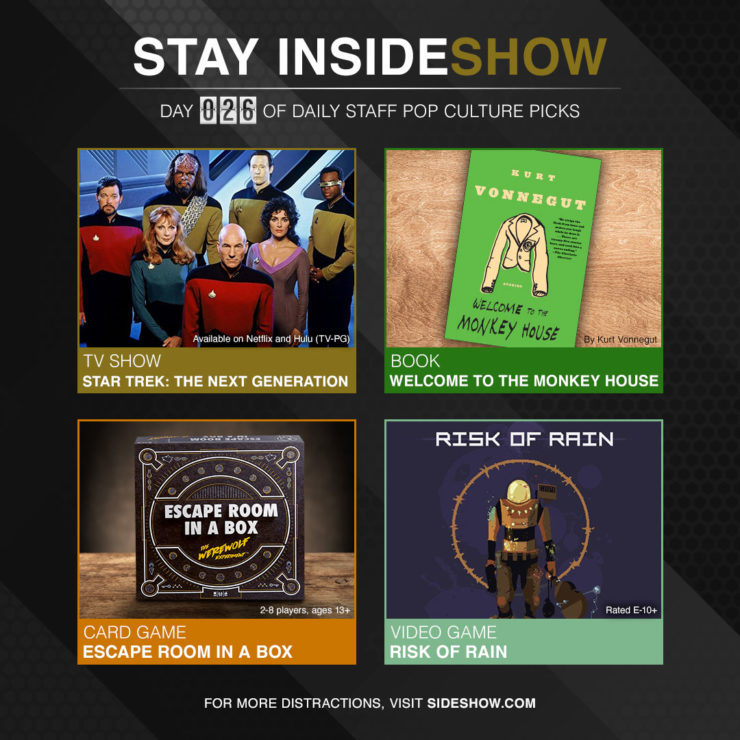 Stay InsideShow Pop Culture Picks – Day 26