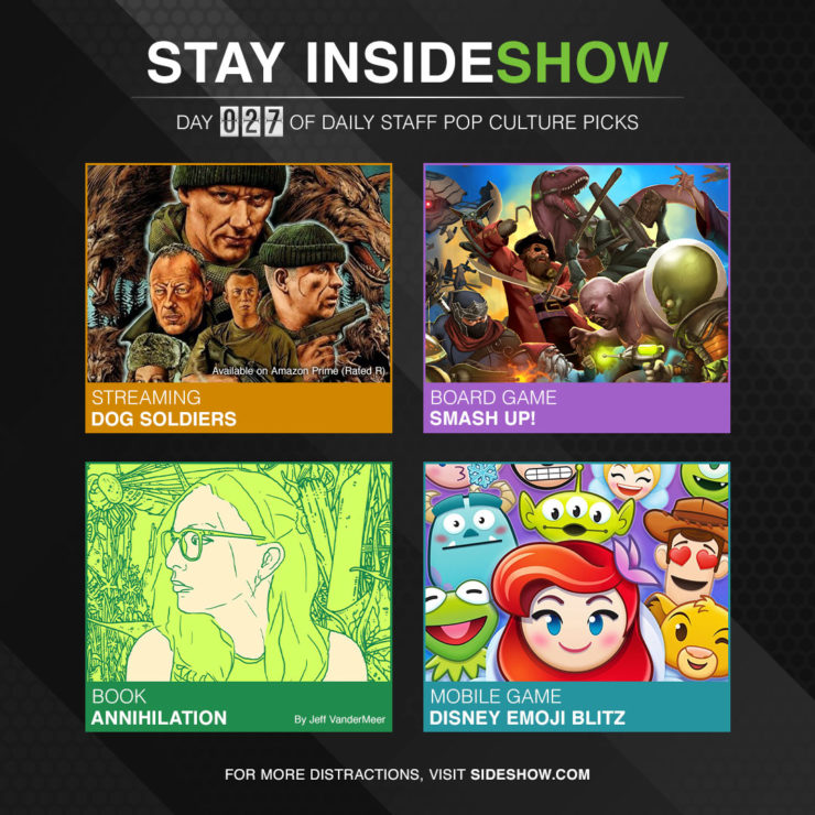 Stay InsideShow Pop Culture Picks – Day 27