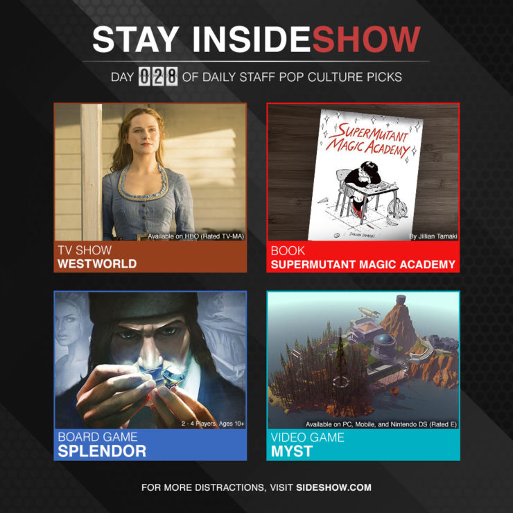 Stay InsideShow Pop Culture Picks – Day 28