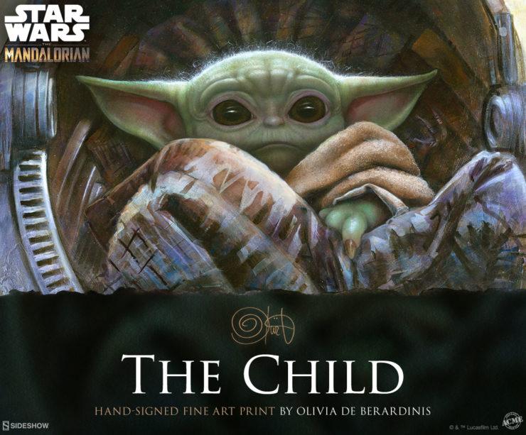 Artist Olivia- The Child Fine Art Print