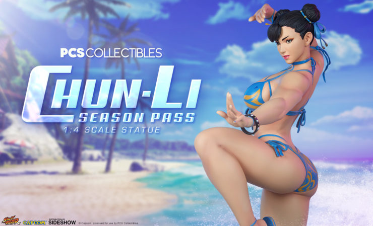 Chun Li and Chun-Li Morrigan Season Pass 1:4 Scale Statues from PCS Collectibles