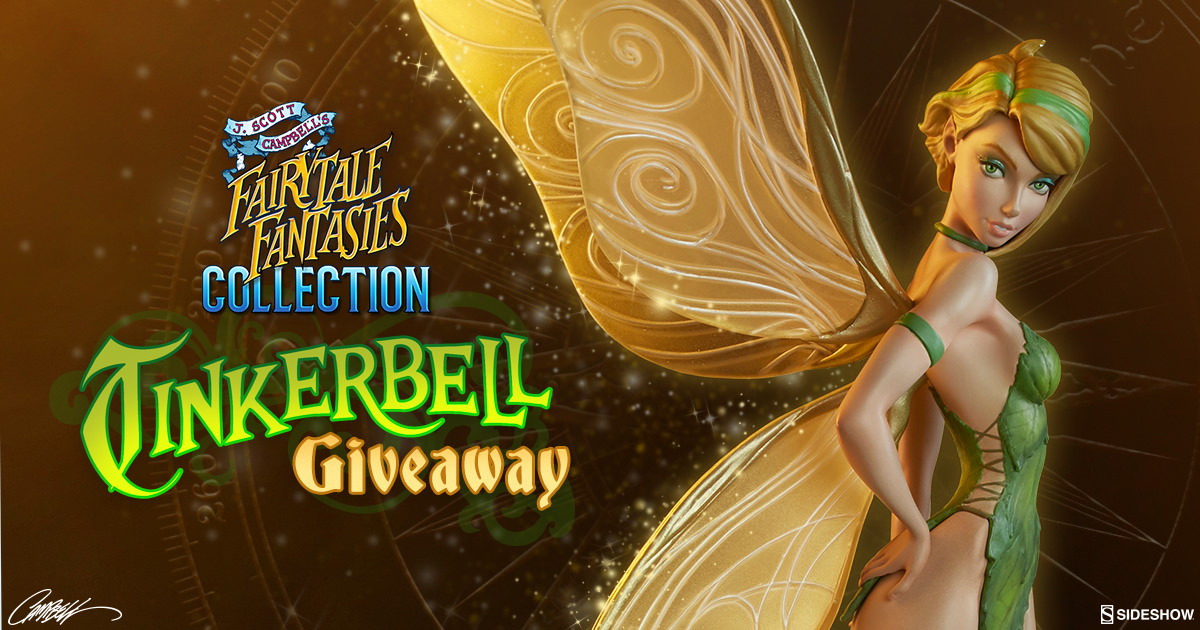 Tinkerbell Fairytale Fantasies Statue Giveaway
