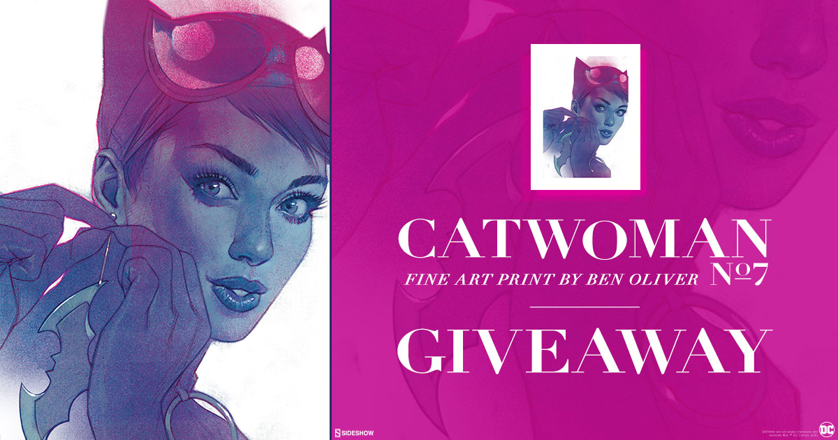 Catwoman #7 Fine Art Print Giveaway