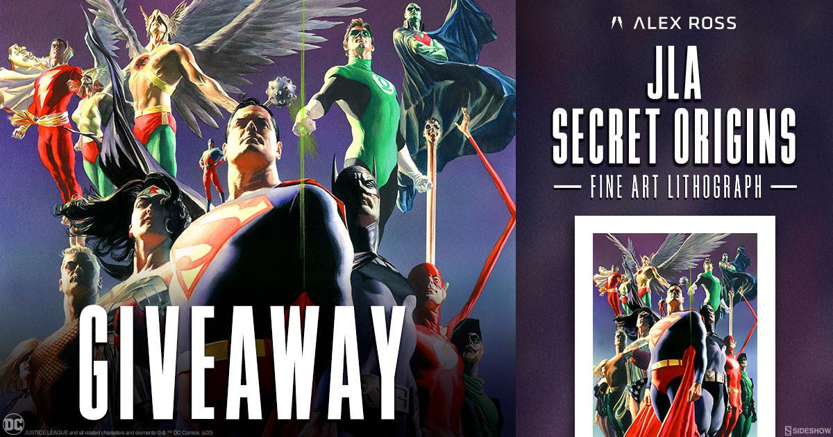 JLA: Secret Origins Fine Art Lithograph Giveaway