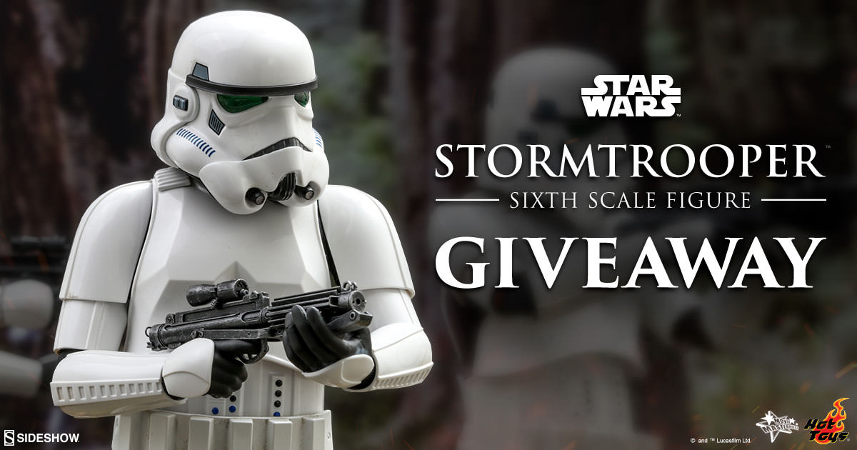 Stormtrooper Sixth Scale Figure Newsletter Giveaway