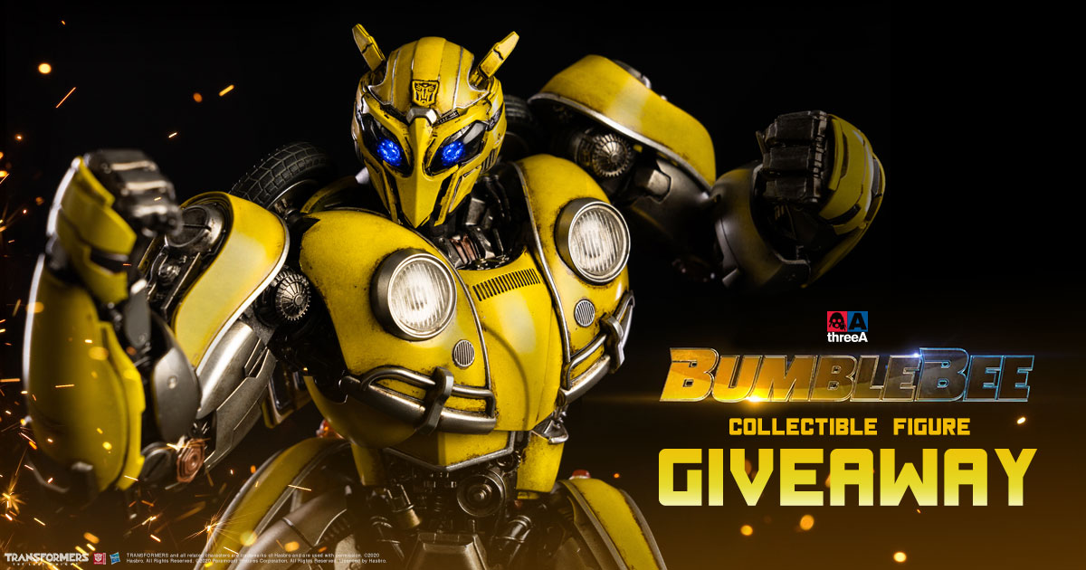 Bumblebee Collectible Figure Giveaway