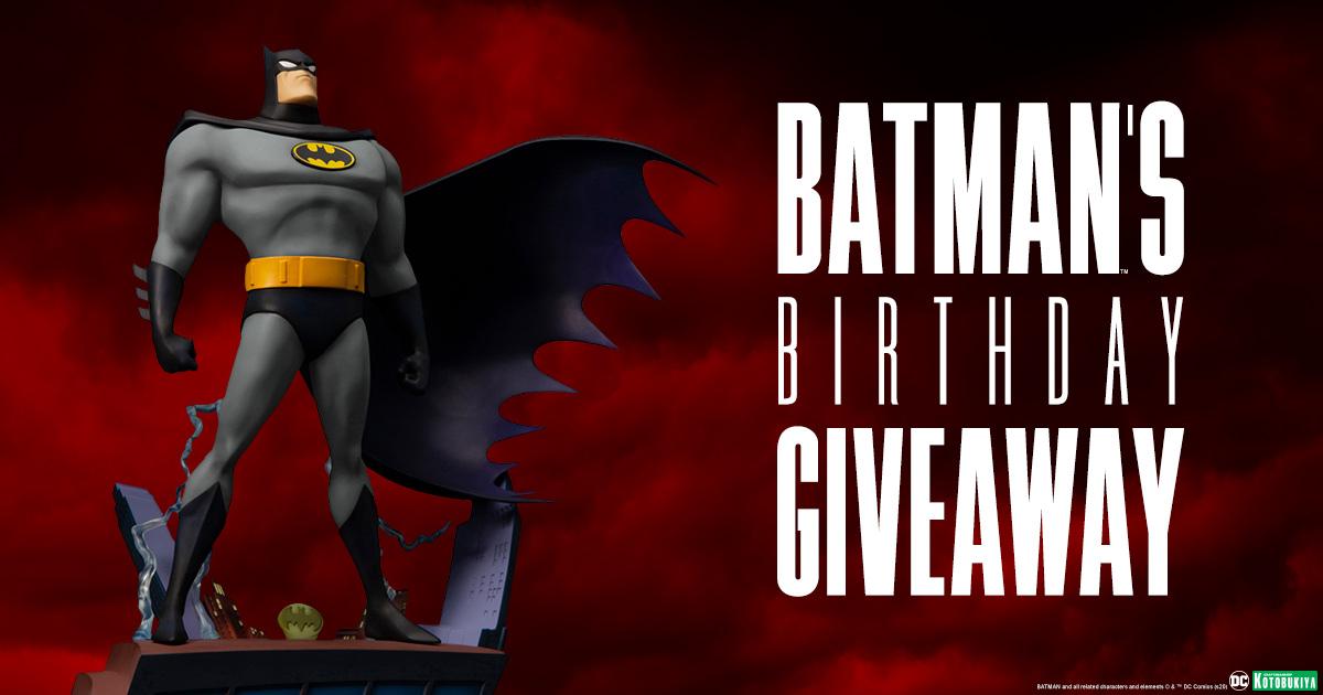 Batman's Birthday Giveaway