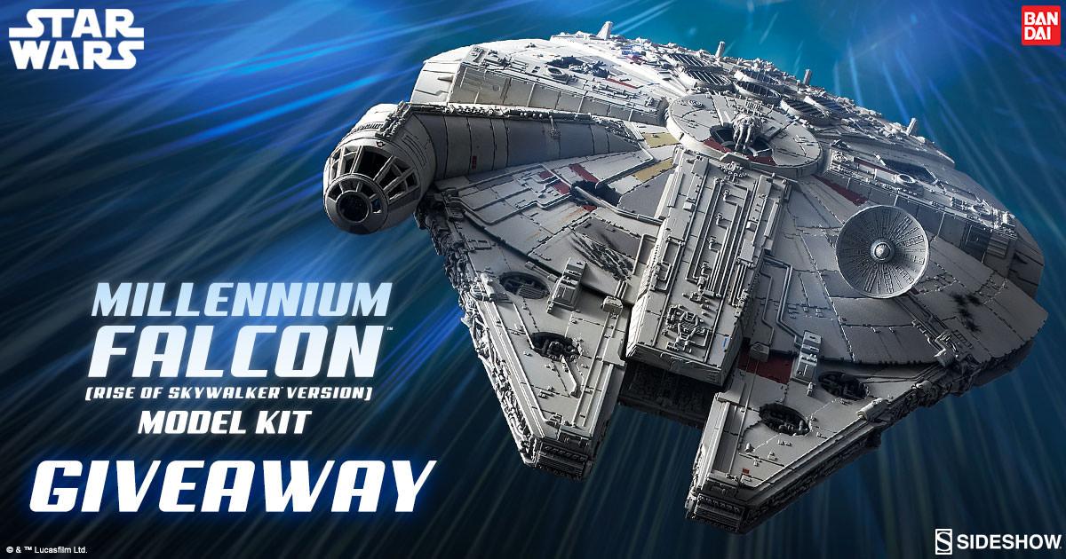 Millennium Falcon Model Kit Giveaway