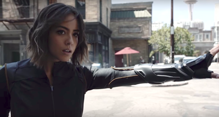 Daisy Johnson- Agents of SHIELD