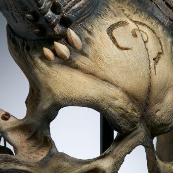 Kier Bane of Heaven Mask Life-Size Replica
