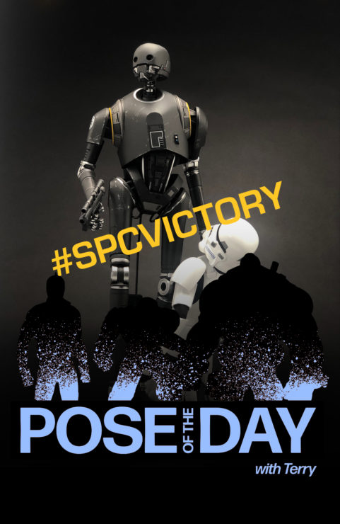 Pose of the Day Challenge 4: Victory