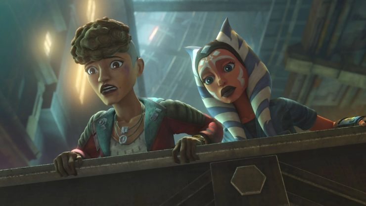 Clone Wars Season 7: Ahsoka and Trace Martez