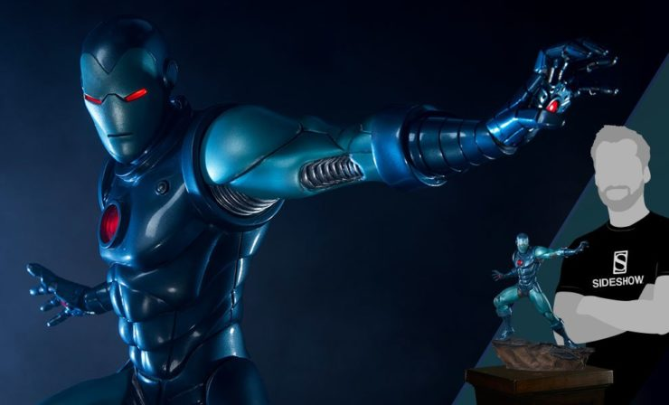 Avengers Assemble- Iron Man Stealth Suit Statue