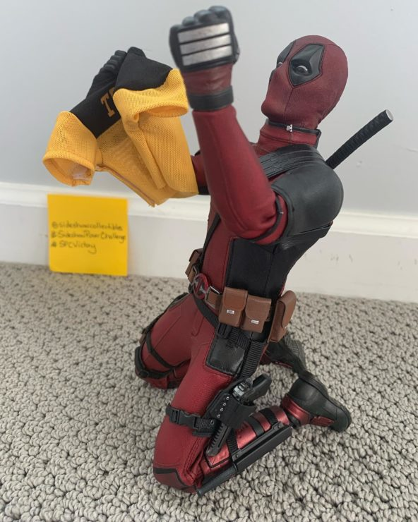 Pose of the Day Challenge- Deadpool Honorable Mention