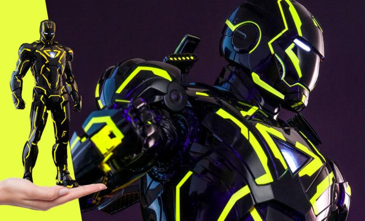 Iron Man Neon Tech 2.0 Hot Toys