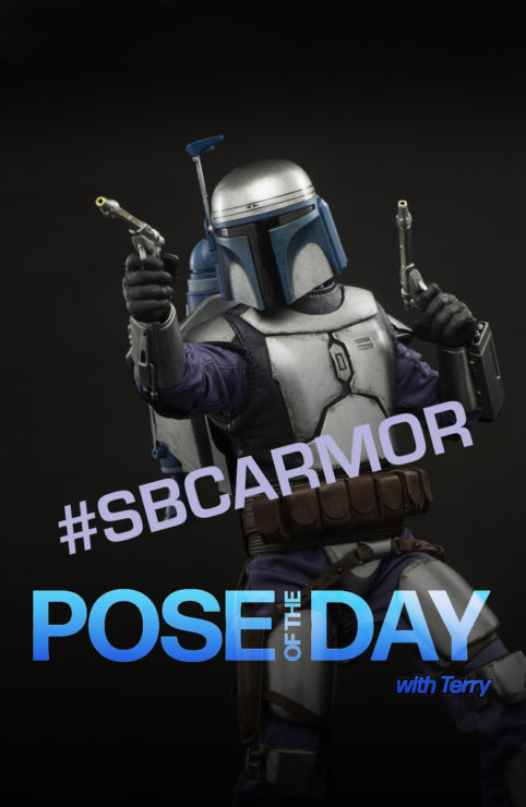 Pose of the Day Challenge 8: Armor