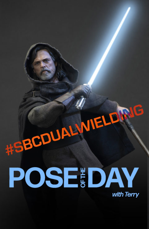Pose of the Day Challenge 5: Dual Wielding