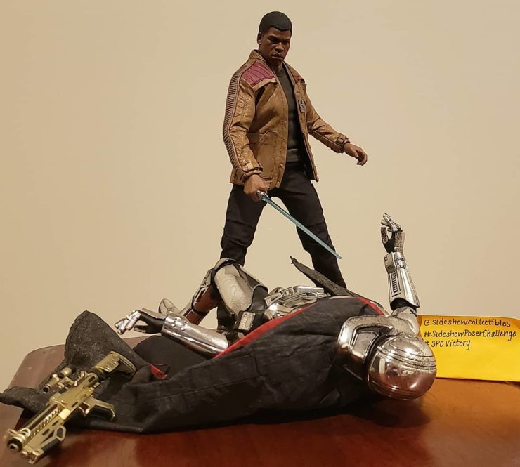 Pose of the Day Victory Winner- Finn and Phasma