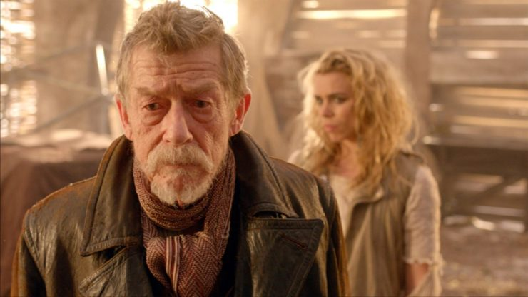 Doctor Who- War Doctor and Rose Tyler
