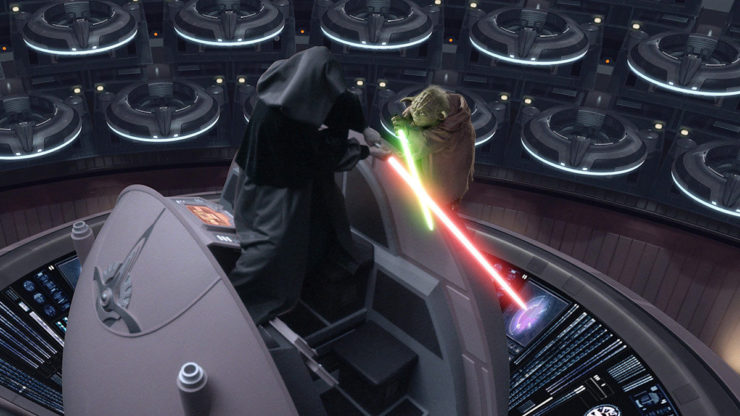 Yoda and Palpatine: Arrogance and Blind Faith
