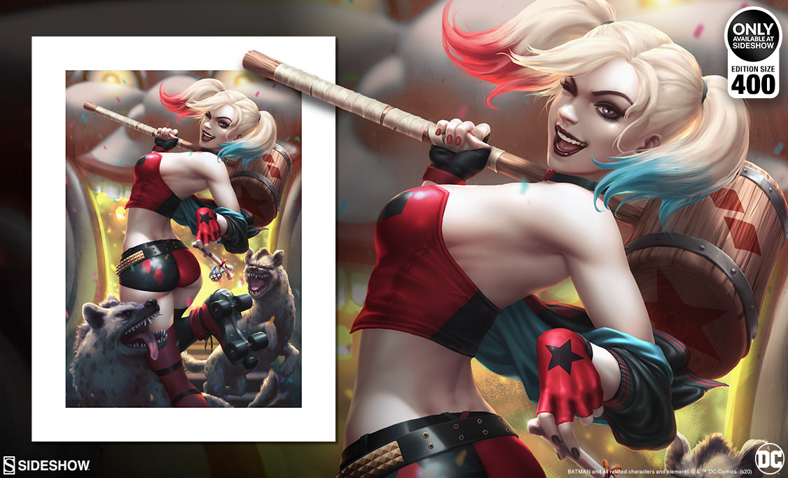 Harley Quinn: Hell on Wheels Fine Art Print Giveaway