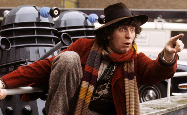 Still of the 4th Doctor in Doctor Who